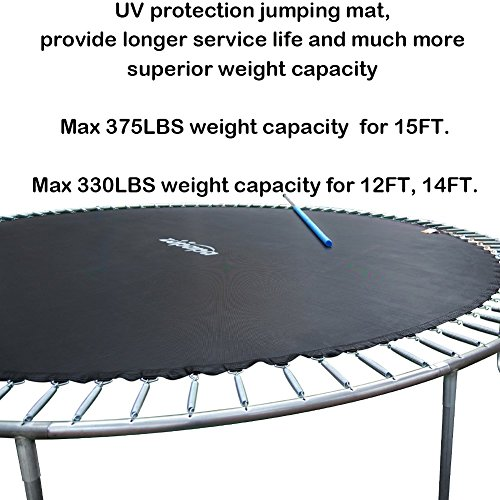 Tuv Gs Authentic Zupapa 15 Ft Trampoline Combo Include