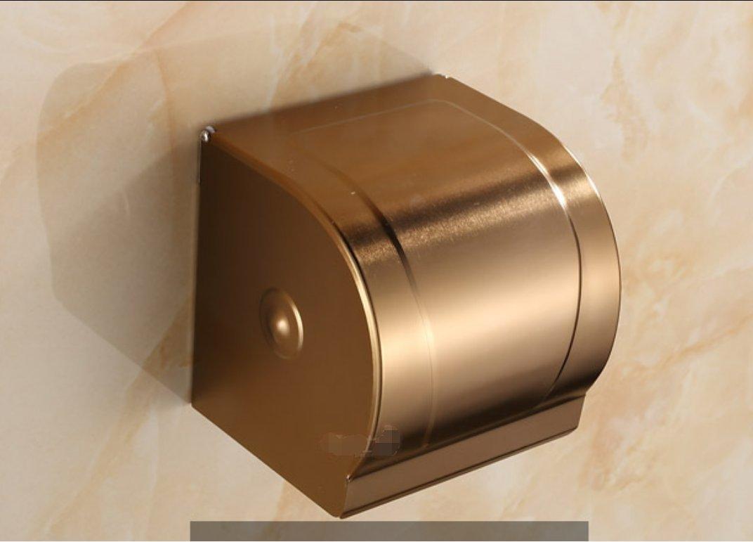 european style space aluminium toilet tray toilet paper shelf