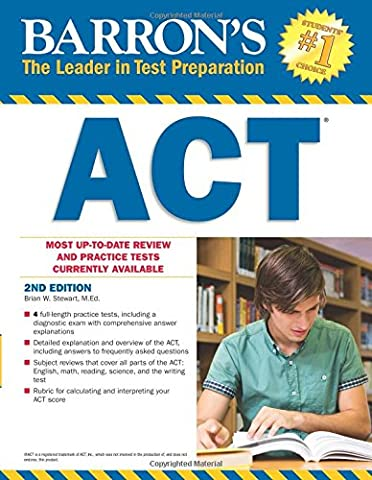 Barron's ACT, 2nd Edition (Barron's Act (Book Only)) (Act Subject)