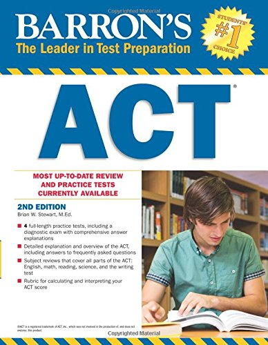 Barron's ACT, 2nd Edition (Barron's Act (Book Only)) cover