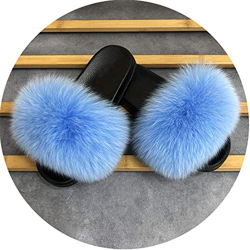 Used, Slippers Women Home Fluffy Sliders Comfort with Flats for sale  Delivered anywhere in Canada