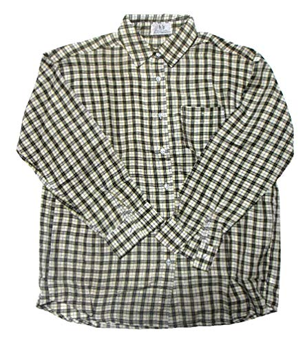 独裁二スピンエスニックシャツ ユニセックスチェック柄エスニック衣料