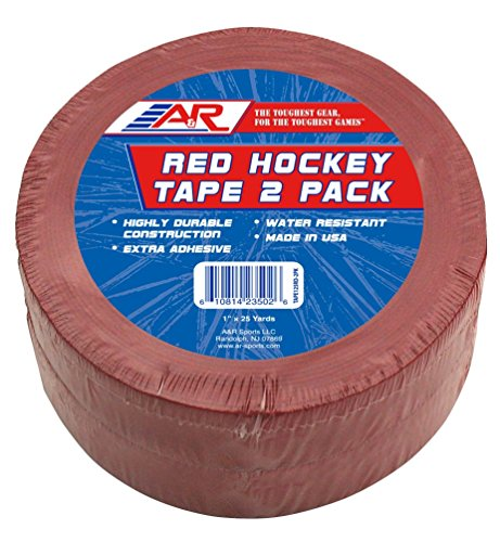(A&R Sports Red 2 Pack Hockey Tape)