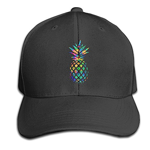 CSYSMZ Cool Pineapple Colorful Baseball Cap Unisex Fishing Caps Peaked Hat - Deliver Usps Time To