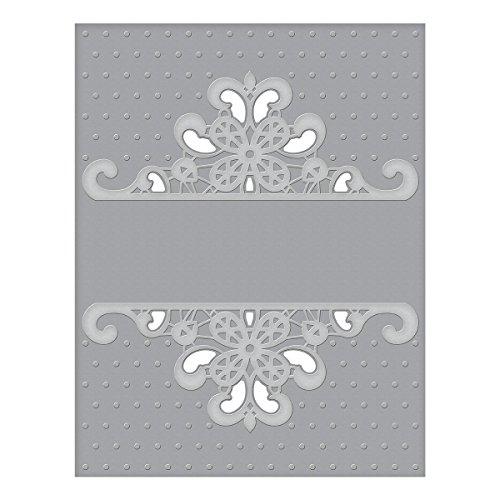 Emboss Folder - Spellbinders CEF-007 Dotted Lace Cut and Emboss Folder