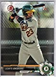 2017 Bowman Prospects #BP25 Lazarito Armenteros Oakland Athletics Baseball Card