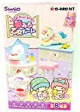 Little Twin Stars dream maiden Room 8 pcs BOX (Candy Toys & chewing gum) by Re-Ment