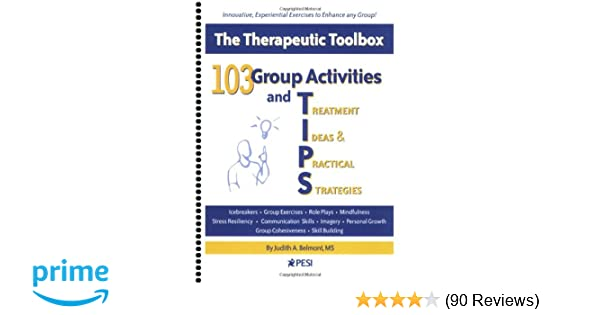 Amazon Com 103 Group Activities And Tips Treatment Ideas