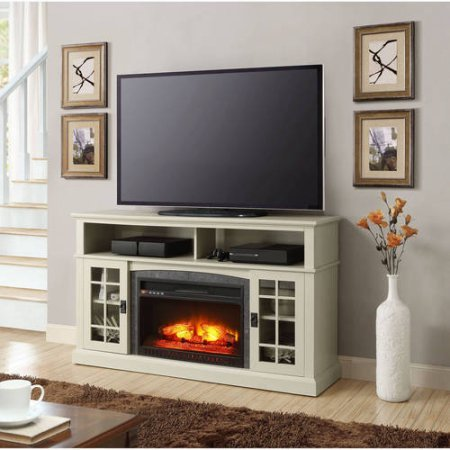 60 electric fireplace for Better homes and gardens fireplace tv stand