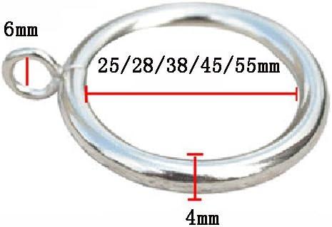 Cool Ring 12 Kunststoff Vorhangringe C-F/örmiger Vorhangring Duschvorhangringe