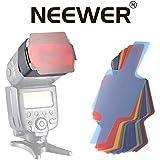 Neewer Photographic 20-Piece Speedlite Flash Color Gels Universal Lighting Cinegel Filter Kit