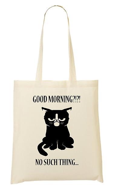 36a21461144d Grumpy Cat Shopping Tote Bag: Amazon.co.uk: Shoes & Bags