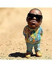 """Swhcvj """"Legend""""Herdenkingsmunt hars ornamenten, handgemaakte de late raap muziek ster hars sculpturen, Hip Hop Rapper collectie beeldjes, beste cadeau voor hiphop fans vrienden (D)"""