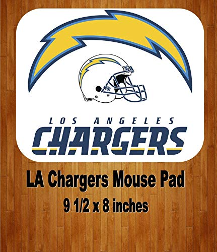 Los Angeles Chargers Football Team Mouse Pad Home Or Office