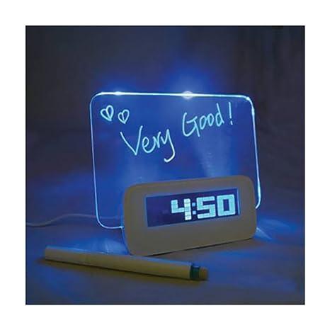 Despertador digital electrónicos cuadro radio-reveil ...