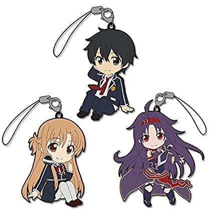 Amazon.com: Pikuriru. Sword Art Online II Asuna Kirito Yuuki ...