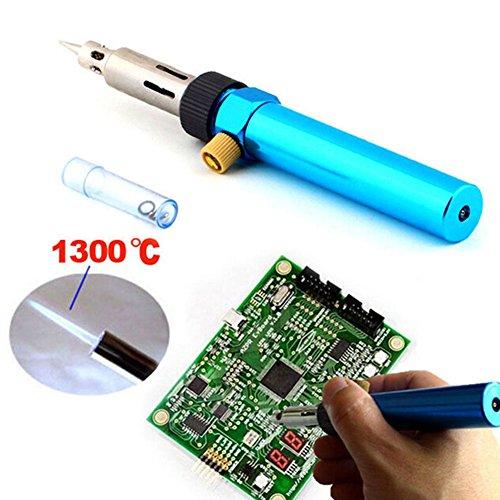 teco 1 Cordless Welding Pen Burner Gas Blow Torch Soldering Solder Iron Gun Butane (Best Gas Soldering Iron Uk)