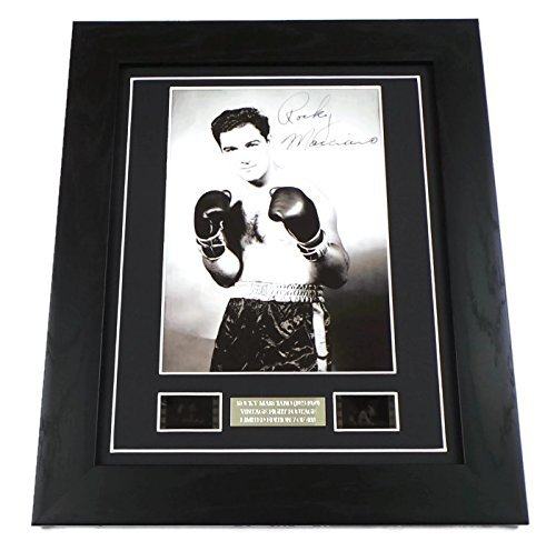 (Rocky Marciano Signed + Vintage Fight Footage)