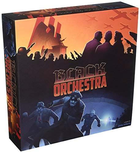 Game Salute Black Orchestra Second Edition Strategy Board Game from Game Salute