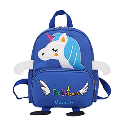 Scrox 1pcs Mochila Unicornio Mochila Escolar para niños Guarderia Mochila Escolar con Animal Apto para Niños de 3 a 6 años para La Escuela, Viajes, ...