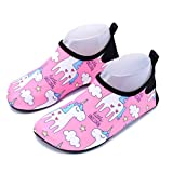 CHARMCZ Kids Water Shoes Quick Dry Boys Girls Barefoot Aqua Socks for Summer Beach Swimming Sports