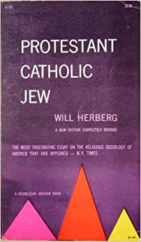 Book Protestant Catholic Jew