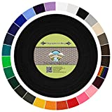 Country Brook Design | Polypropylene Webbing (1 Inch) (Black, 50 Yards)