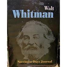 Specimen Days Journal