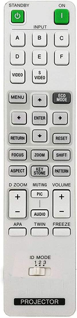 PROROK New Remote Control fit for Sony projectors VPL-F435HZ VPL-F435HZL VPL-F500H VPL-F500X VPL-F501B VPL-F501H