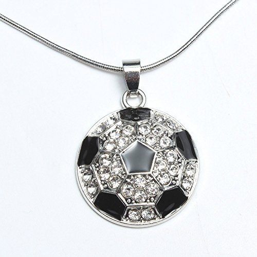 Godyce Football NFL Soccer Volleyball Basketball Softball Necklace - 20inch Adjust with Gift Box
