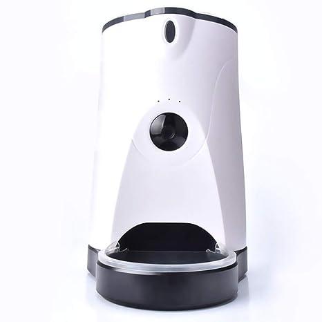Alimentación Temporizada para Mascotas Alimentador Automático Cuantitativo Alimentación Remota Inteligente Monitoreo De La Cámara De Video