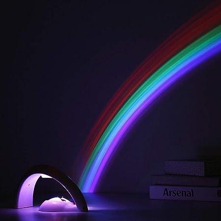 Noche proyector de luz de Navidad LED de colores del arco ...