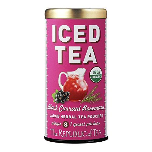 Republic Of Tea, Tea Iced Black Currant Rosemary Organic, 8 Count from The Republic of Tea