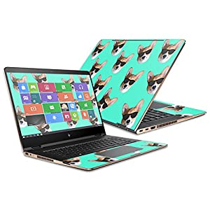 "Skin For HP Spectre x360 Convertible 15.6"" (2017) – Cool Corgi 