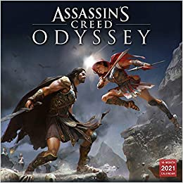 2021 Assassins Creed Odyssey 16 Month Wall Calendar: by Sellers