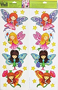 Main Street Wall Creations   Jumbo Stickers   Fairies Part 35