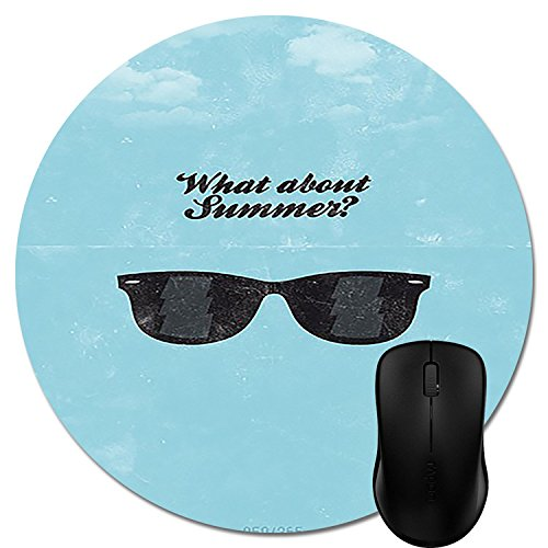 Summer Quotes Sayings Sunglasses Short Cute Gaming Mouse Pad - Durable Office Accessory And - Sayings Sunglass