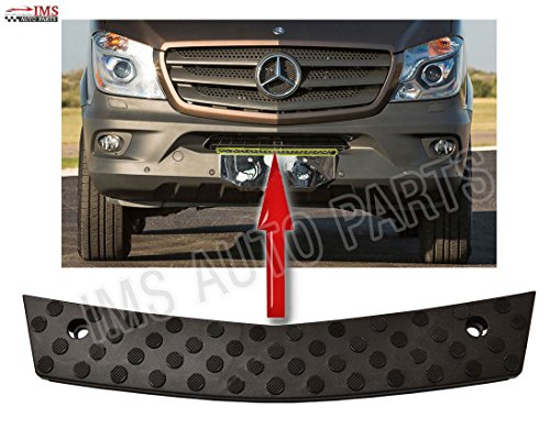 (MERCEDES SPRINTER FRONT LOWER CENTER BUMPER GRILLE STEP 2014 2017 W906 NEW SHAPE)