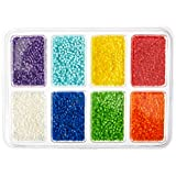 Perler Beads 80-17529 Mini Beads Tray, Rainbow