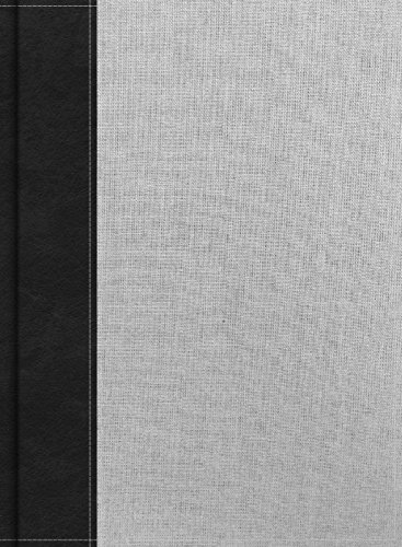 CSB Study Bible, Gray/Black Cloth Over Board