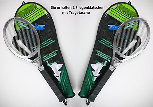 Hochwertige Elektrische Fliegenklatsche Insekten Schröter (2Stk. Fliegenklatschen)