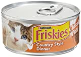 Friskies Cat Food Classic Pate, Country Style Dinner, 5.5-Ounce Cans (Pack of 24), My Pet Supplies