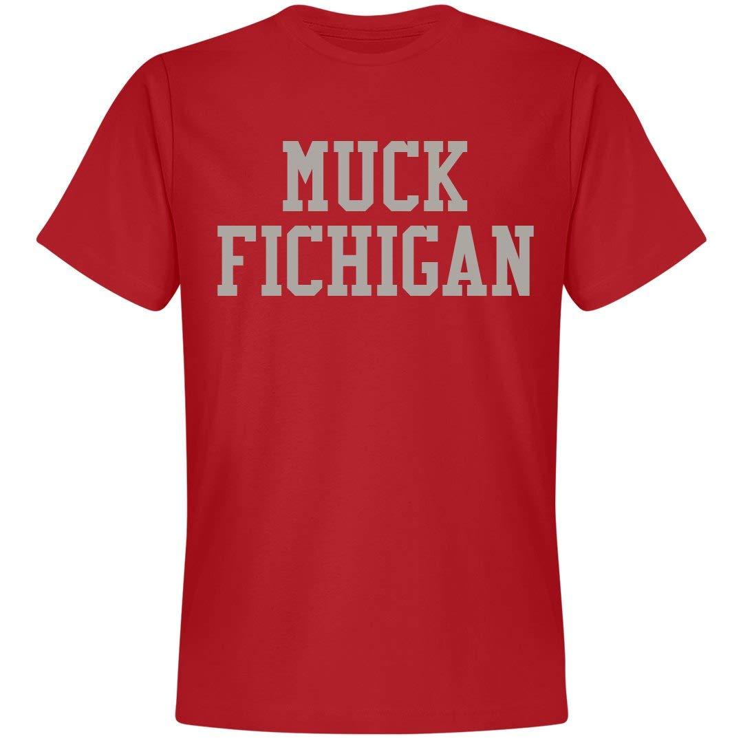 Muck Fichigan Football Unisex Next Level Premium T Shirt 5325