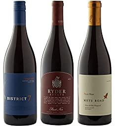Monterey Estate Pinot Envy Mixed Pack Wine 3 x 750 mL