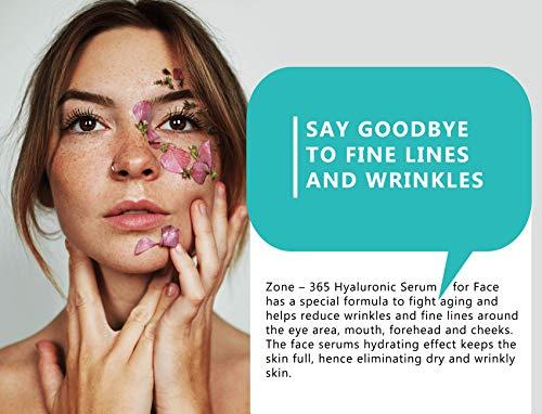 514uvx%2B AwL - Hyaluronic Acid Serum for Face, Repairs Damaged Skin, All Natural with Vitamin C, E, Jojoba Oil, Witch Hazel. (Anti Aging Formula)