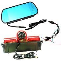 Chevrolet third brake light camera kit for Chevrolet Express GMC Savana Cargo VAN (With Monitor)