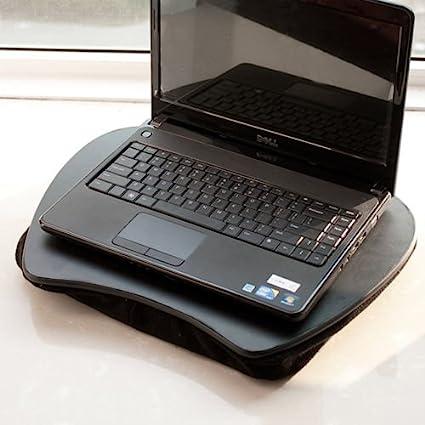SoBuy Portable Lap Desk Table Notebook Laptop Tray, Pillow Tray, FBT22  (black)