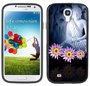 Gautama Buddha Buddhist Handmade Samsung Galaxy S4 Black Bumper Hard Plastic Case
