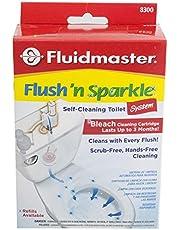 Fluidmaster 8300P8 Flush 'N' Sparkle Toilet Bowl Cleaning System