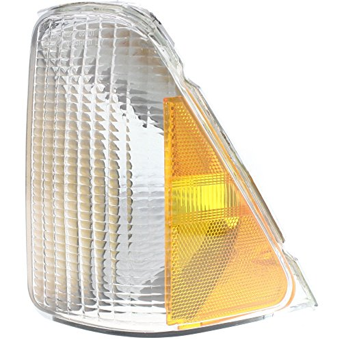 Evan-Fischer EVA20572013294 Corner Light for Ford Aerostar 92-97 Corner Lamp LH Lens and Housing Left Side